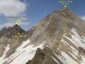 mta tepeden (3517m.) çağalın zirvesi